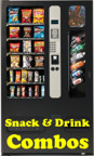 snack and soda combo vending machines